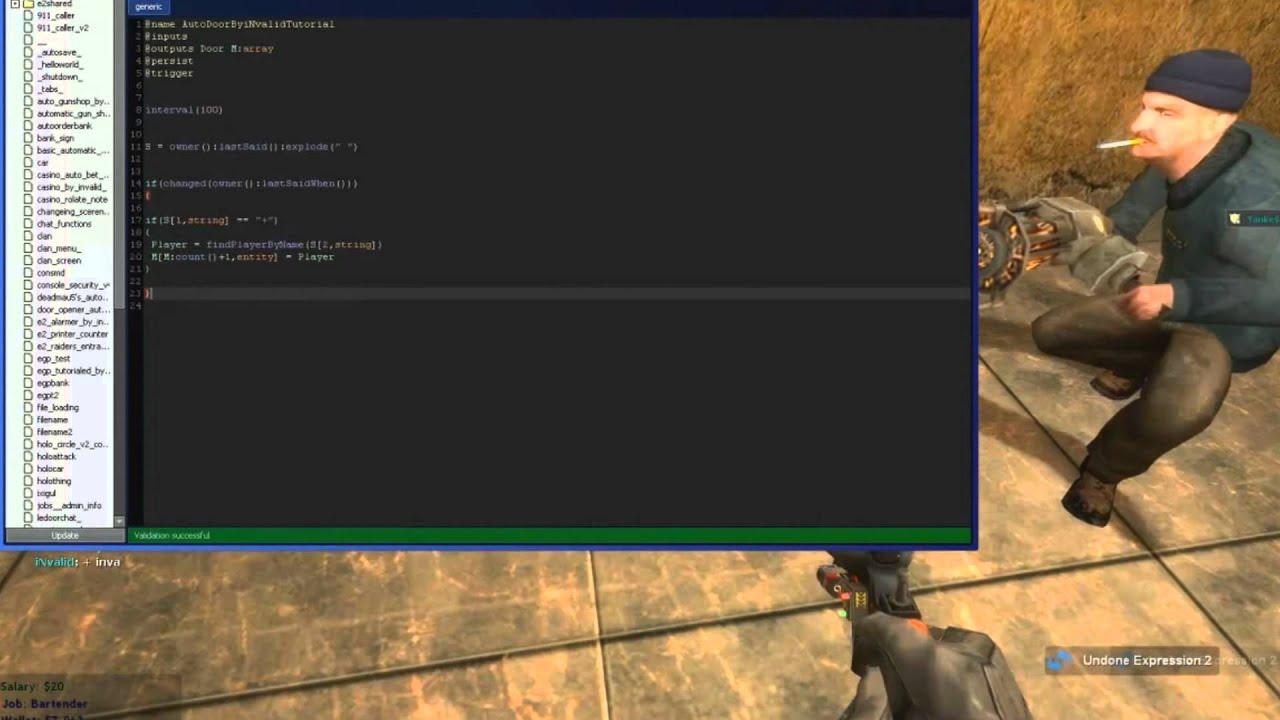 [Game Tech] Gmod E2 Tutorial - Automatic Door Opener by TechVids4All