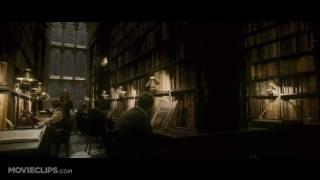 Harry Potter Library Scene