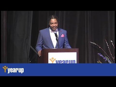 Year Up Boston Graduation January 2016: Le'Sean Wells Graduation Speech