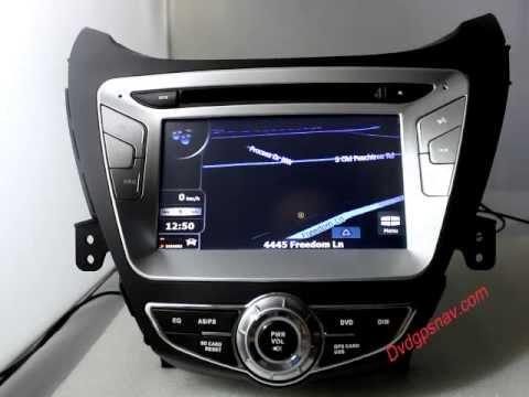 Hyundai Elantra Dvd Player Head Unit Gps Navigation System