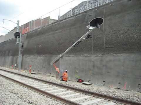 Tilt Over Mast