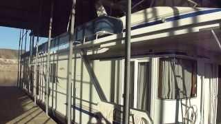2001 Fantasy Yachts 65' Houseboat Walk Through Boulder Boats Lake Mead