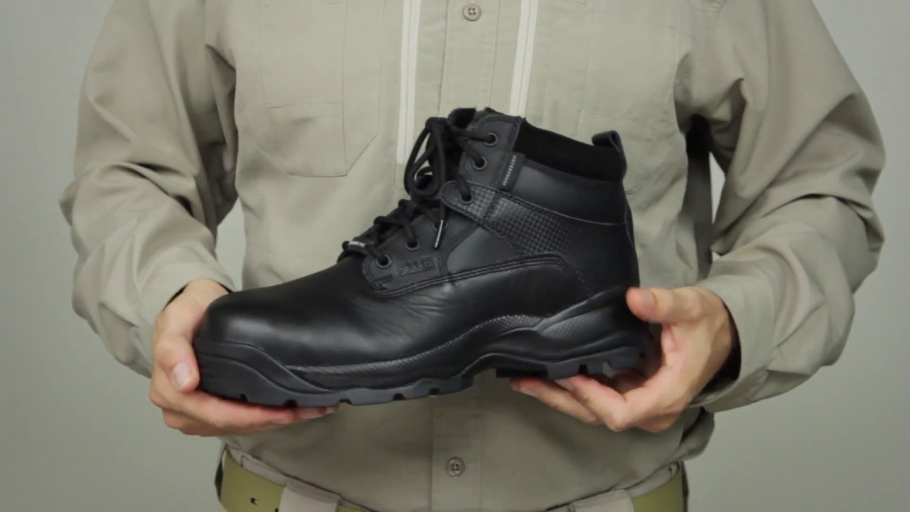 5.11 Tactical - 12019 ATAC 6 inch Shield Side Zip ASTM Boot - YouTube 0a64aa54b