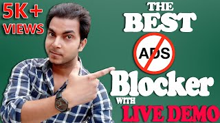 Best ad blocker for android mobile in hindi | 2017 2018| by think more