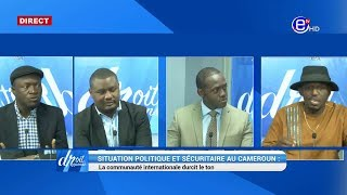 DROIT DE RÉPONSE DU 21/04/2019 (SITUATION POLITIQUE ET SÉCURITAIRE AU CAMEROUN : LA COMMUNAUTÉ INT)