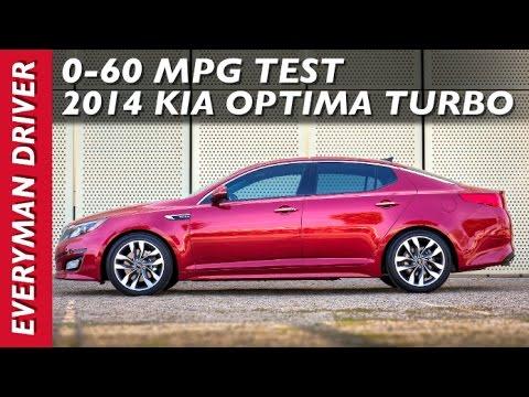 How Fast 0 60 Mph 2017 Kia Optima Turbo On Everyman Driver