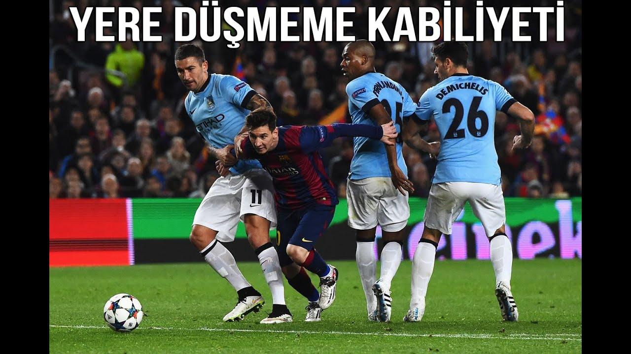 Lionel Messi - İnanılmaz Fizik & Yere Düşmeme Kabiliyeti • HD