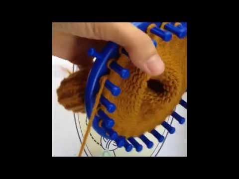 บีดีนิต หมวกถักจากนิตติ้งลูม part 2 (1/2)