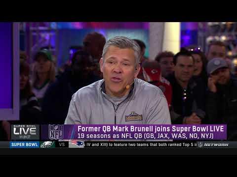 Former QB Mark Brunell joins the show | Super Bowl LIVE | Feb 3, 2018