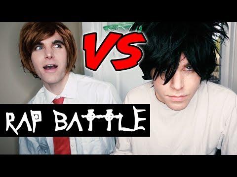 Light vs L (Death Note Rap Battle) 2017