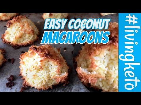 easy-keto-dessert---keto-coconut-macaroons