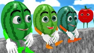 Humpty Dumpty Song with Watermelon