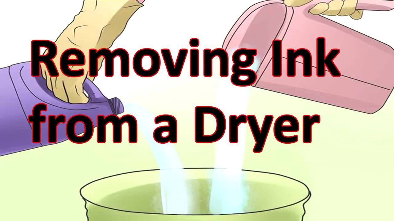 How To Remove Ink Stains From Your Clothes Dryer The Simple Way