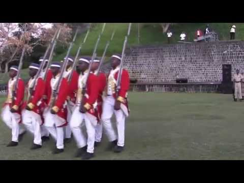 Brimstone Hill Fortress National Park 50th year Beating the Retreat Ceremony 5