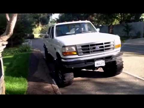 1997 Ford F250 Mega Cab Diesel 4x4 38 5 Tires And Lift For