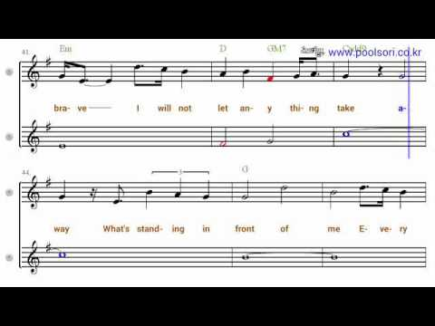 A thousand years  Bb  TenorSoprano  Sax  Sheet Music
