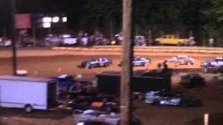 Winder Barrow Speedway Stock Four Feature Race 7/5/14