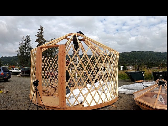 Yurt In A Box: The Ultimate Portable Popup Structure