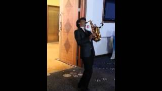 Saxophone Wedding Entrance