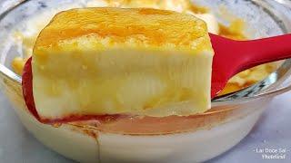 Sobremesa Fácil e Deliciosa – Pudim de Travessa sem Forno e sem Ovos