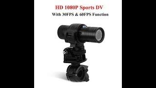 Водонепроницаемый видеорегистратор 8MP 1080 P 170 градусов объектив HD Спорт, обзор товары из Китая.