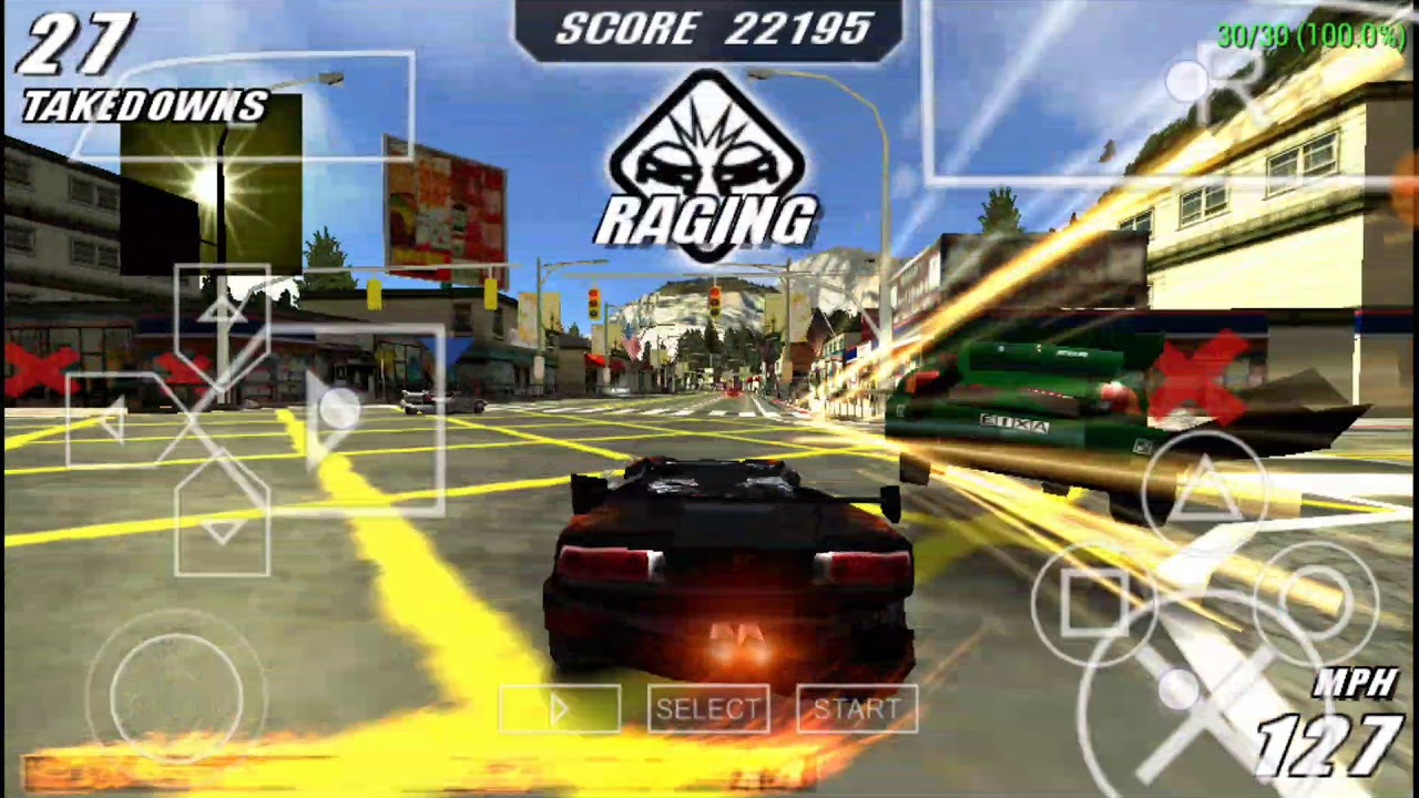 burnout legends psp iso