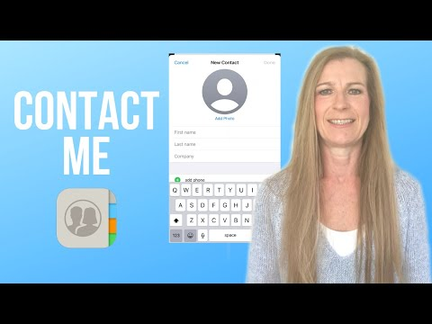 HOW TO MANAGE CONTACTS ON IPHONE | Apple Contacts App