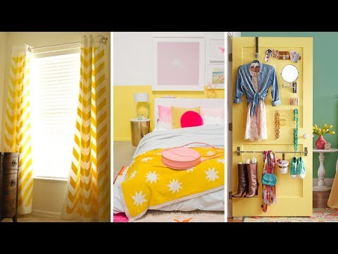 10 DIY Small Bedroom Improvement and Cleaning Ideas