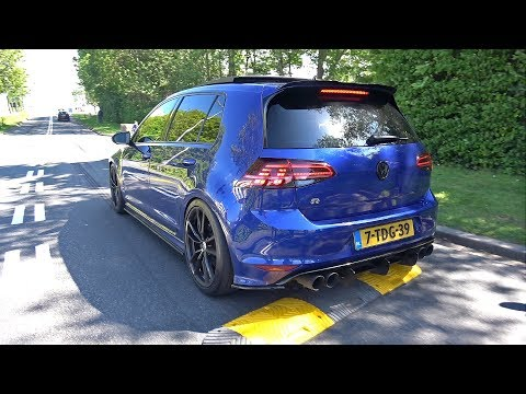 Volkswagen Golf 7 R Stage 2 with LOUD Armytrix Exhaust System!