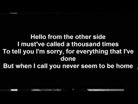 Adele-Hello Lyrics with Alice Olivia