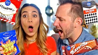 SUB TO AMANDA ➡   http://bit.ly/SubToMattanda Watch 'Trying BRITISH Sweets' ➡   http://bit.ly/TryingFoods Subscribe Now! ➡   http://bit.ly/Sub2Matthias ...