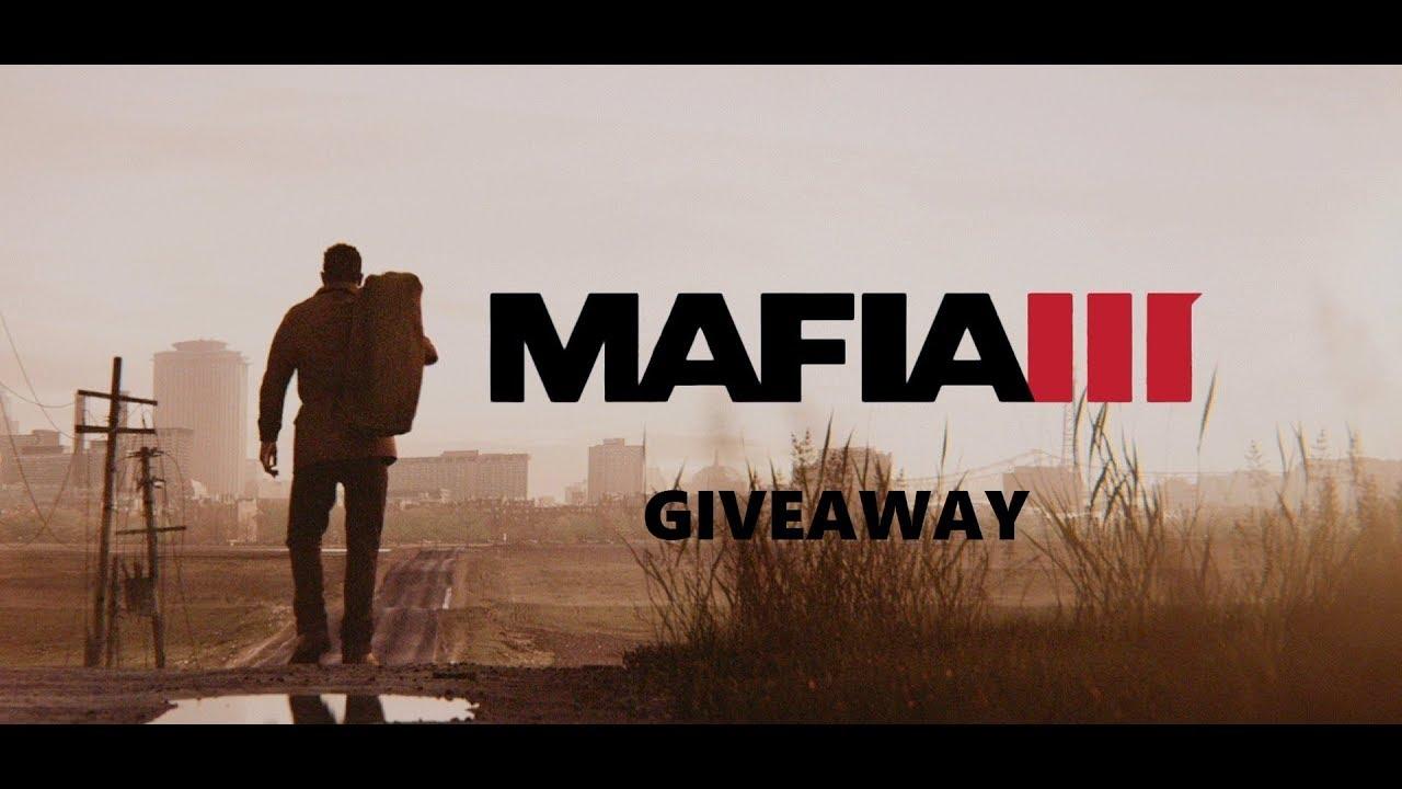 Mafia 3 Steam Game key Giveaway