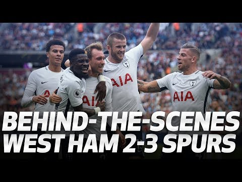 BEHIND-THE-SCENES | West Ham 2-3 Spurs