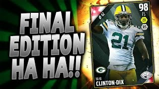 FINAL EDITIONS LEAVE ME SPEECHLESS!! | FINAL EDITION HAHA! | MUT 16 PACK OPENING