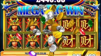 £450.15 MEGA BIG WIN ON SAMURAI MASTER™ ONLINE SLOT GAME ON JACKPOT PARTY®