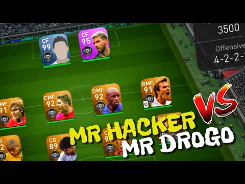 MR HACKER VS MR DROGO _ PES 2019 Mobile Android / IOS
