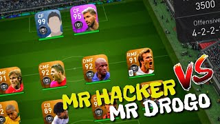 MR HACKER VS MR DROGO _ PES 2019 Mobile Android / IOS