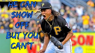 Chris Archer being Hypocritical