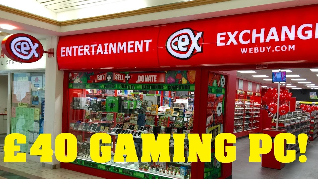online retailer 4dd36 05ba8 So I bought a gaming PC from CEX for £40 ($50)