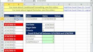 Excel Magic Trick 544: Conditional Formatting Row With Multiple Criteria In Other Columns