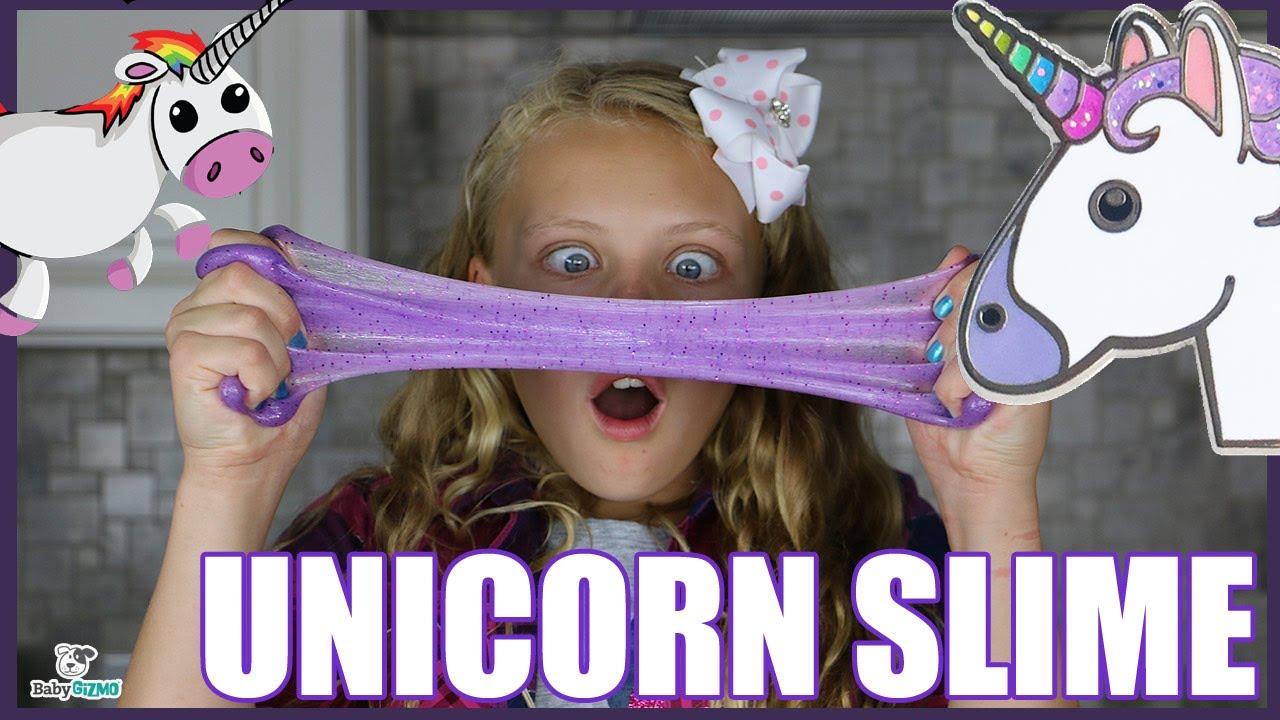 How To Make Easy Unicorn Slime With No Borax
