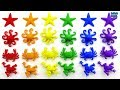 Slime Surprise|Learn Names of Sea Animals|Learning 84 Water Animals Toys and Colors
