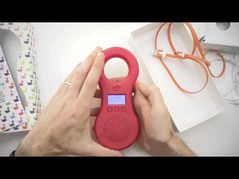 Lettore mp3 per bambini e cassa audio portatile: Ocarina mp3