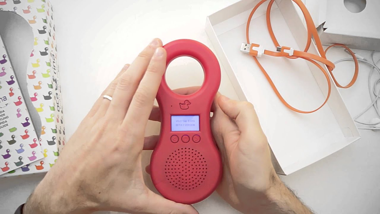 Lettore mp3 per bambini e cassa audio portatile: Ocarina mp3 - YouTube