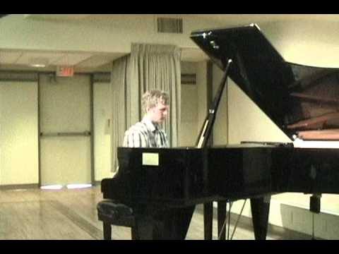 Aaron McKinstry, Certificate of Merit, Senior Awards Recital