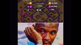 Clash Of Clans Extreme heart attack 99%