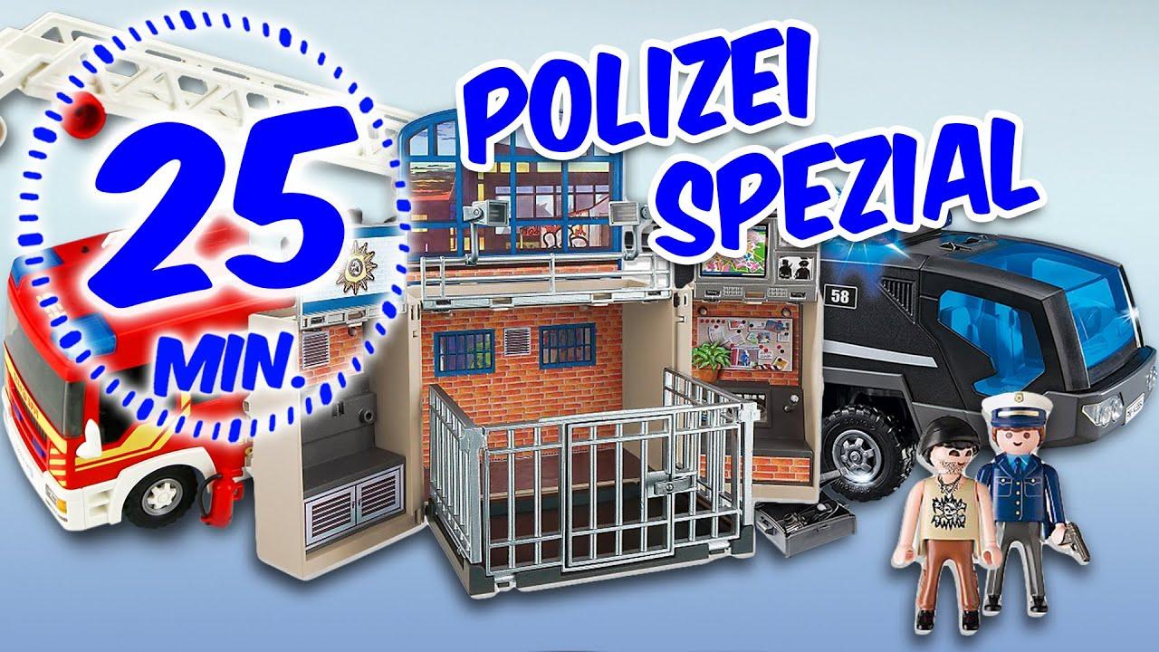 ⭕ playmobil polizei & feuerwehr unboxing special - pandido