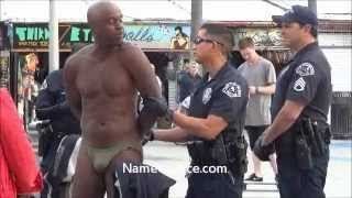 SNAKE MAN KING SOLOMON (PART 1 OF 2) HARASSED BY LAPD POLICE VENICE BEACH CALIF MARCH 20, 2013