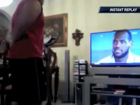 """LeBron James """"The Decision"""" Fan Reaction Compilation"""