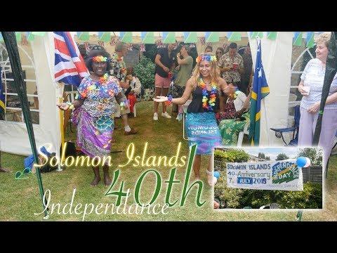 Solomon Islands 40th Anniversary l Family Vlog
